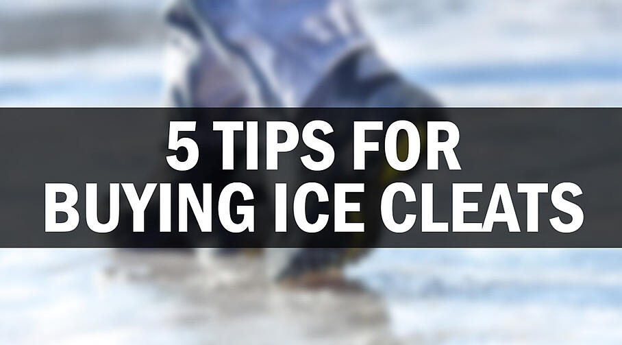 5 Tips For Buying Ice Cleats - Where To Buy Ice Cleats
