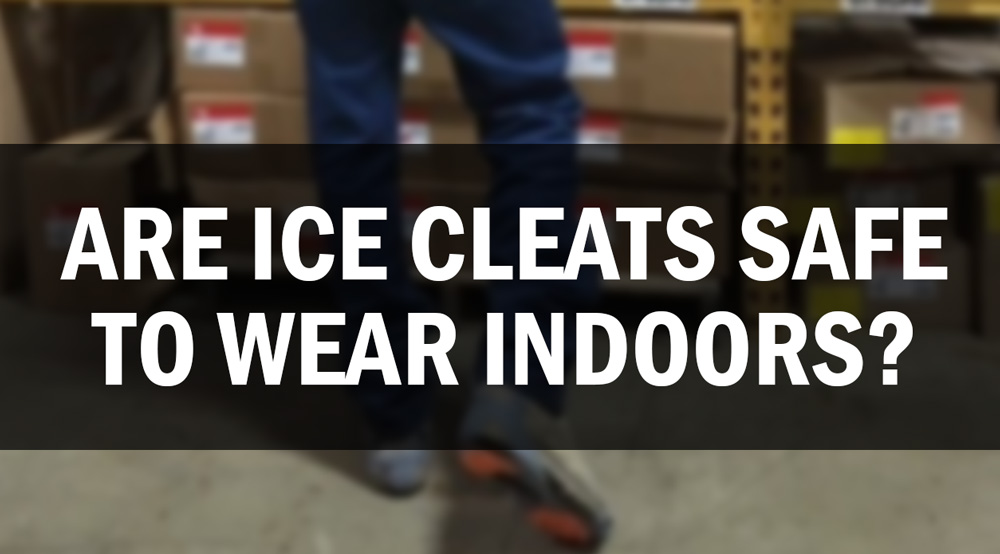 Are Ice Cleats Safe to Wear Indoors?